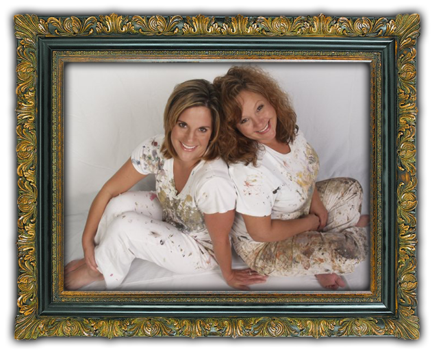 Portrait of Shanna and kelly